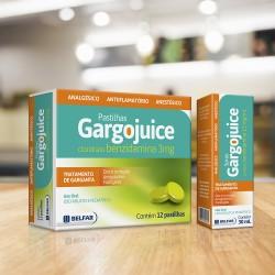 Embalagem Gargojuice