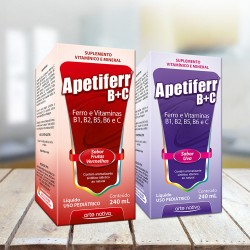 Embalagem Apetiferr B+C